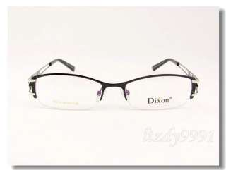 Black&Silver Metal Optical Half Rim EYEGLASS FRAME Unisex Glasses RX