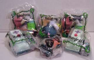 TOONSYLVANIA Burger King Fast Food Toy Set of 6