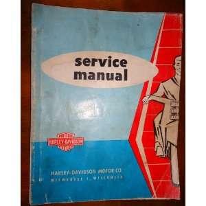 (Harley Davidson Factory Manuals): Harley Davison:  Books