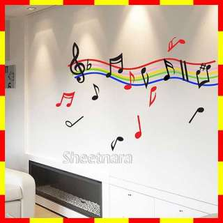 WD 502 RHYTHM 1 Vinyl Graphic Wall Art Decals Sticker