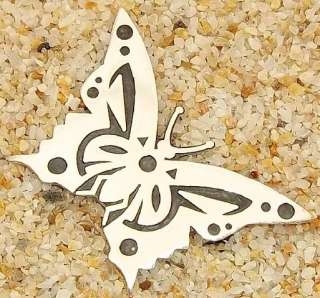 Taxco Mexico Mexican Butterfly 950 Sterling Brooch Pin