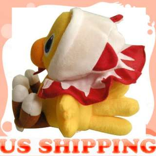 Fantasy VII White mage CHOCOBO plush Cartoon Toy Doll 7 New Year Gift