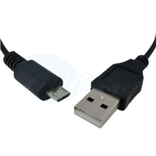 USB Cable 3.3 ft Standard Type A Male to Micro B Male #114BK