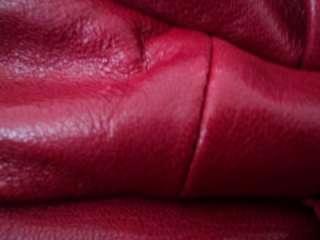 Michael Kors Julian Large Shoulder Tote Red Leather $348.00