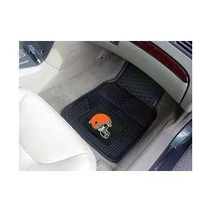 NFL Cleveland Browns Car Mats Vinyl