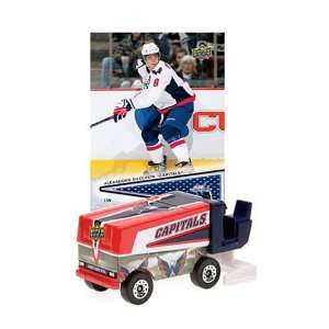 NHL Zamboni   Washington Capitals with Alexander Ovechkin Trading