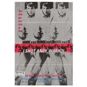 I Shot Andy Warhol Original Movie Poster, 27 x 40 (1996