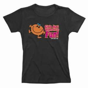 Miss T Shirt femme Girls Just Wanna Have Fun (S)