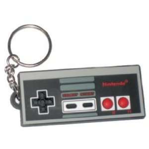 Nintendo ~ Original NES Controller ~ Rubber Keychain Toys & Games