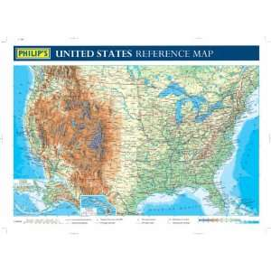 Philips United States Reference Map (9780540087174) Books
