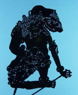Marionette Javanese Wayang Kulit Shadow Puppet art ct08