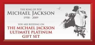 MICHAEL JACKSON MEMORIAL PROGRAM ULTIMATE PLATINIUM SET