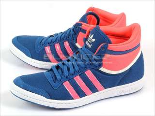 Adidas Top Ten Hi Sleek W Lone Blue/Turbo/Spray Canvas Originals