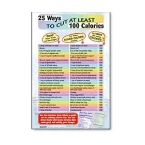 : 25 Ways to Cut at Least 100 Calories Chart: Industrial & Scientific