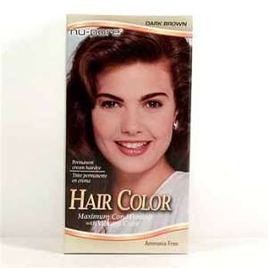 Nu Pore Hair Color   Dark Brown Case Pack 24: Everything