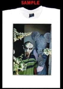 MF DOOM DANGER CUSTOM PHOTO T SHIRT TEE rap hip hop 802