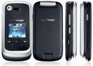 VERIZON MOTOROLA ENTICE W766 FLIP PHONE CLEAR ESN 0723755889750