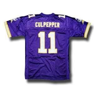 11 Minnesota Vikings NFL Replica Player Jersey By Reebok (Team Color