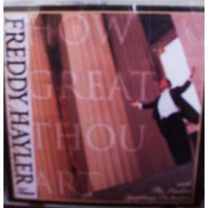 How Great Thou Art  Freddy Hayler Music Cd: Freddy Hayler: Books
