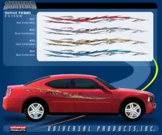 Vehicle Vinyl Decal Stickers Graphics Pinstripe Kit Katazoom