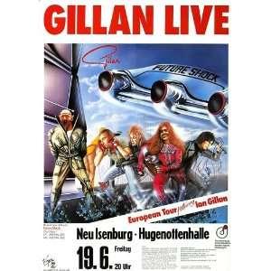 Ian Gillan   Future Shock 1981   CONCERT   POSTER from