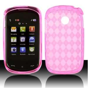 LG 800G Cookie Style TracFone Net10 Crystal SKin Hot Pink