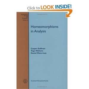Surveys and Monographs) (9780821806142) Casper Goffman Books