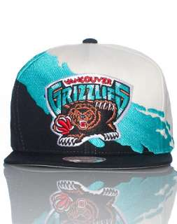 MITCHELL AND NESS VANCOUVER GRIZZLIES NBA SNAPBACK CAP