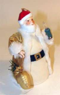 Santa Claus Light Up Christmas Tree Ornament