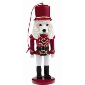 Poodle Dog Soldier Nutcracker Ornament Everything Else