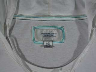 AMERICAN EAGLE Outfitters Long Top with hood size S juniors    FREE