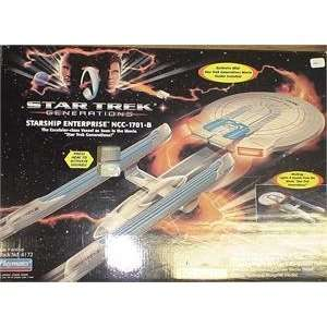 STAR TREK PLAYMATES USS ENTERPRISE 1701 B MIB
