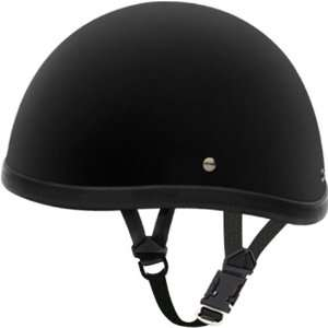Custom Novelty Harley Touring Motorcycle Helmet   Dull Black / X Large