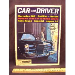 1965 65 July CAR AND DRIVER Magazine (Features Road Test