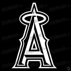 ANAHEIM ANGELS MLB LOGO   VINYL WINDOW DECAL
