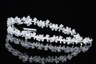Bridal Wedding Gown Swarovski Crystal Tiara V705