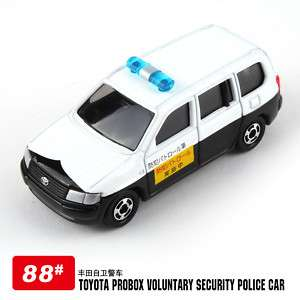 TOMICA #23 TOYOTA PROBOX SECURITY CAR DIECAST