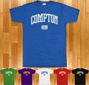 COMPTON T shirt   California LA Los Angeles Cali XS 4XL