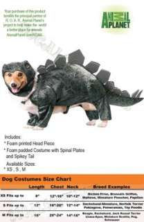Animal Planets Stegosaurus Dog Costume
