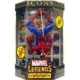 Spider man Marvel Legends Icon Upside Down New MISB