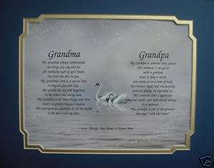 & GRANDPA PERSONALIZED POEMS GIFTS FOR ANNIVERSARY, CHRISTMAS, ETC