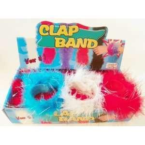 Red, White & Blue Flurry Slap Bracelets   Set of 3 Toys & Games
