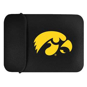 UNIVERSITY OF IOWA HAWKEYES NOTEBOOK LAPTOP CASE SLEEVE
