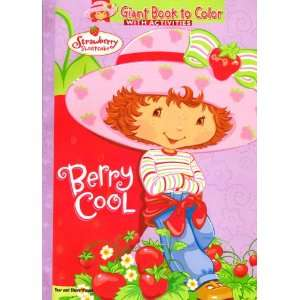 Strawberry Shortcake Giant Book to Color ~ Berry Cool Toys & Games