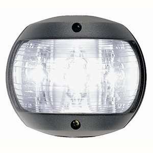 Perko L.E.D Masthead Light   White   12v   Black Plastic