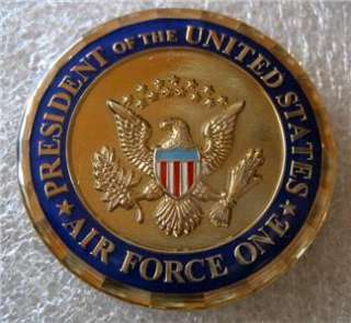 PRESIDENT UNITED STATES AIR FORCE COIN andrews afb