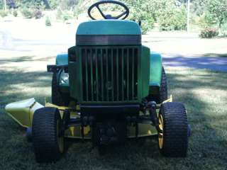 John Deere 318 Lawn & Garden Tractor with Heavy Duty 48 Mower Deck