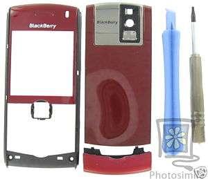 UnBranded Red OEM RIM BlackBerry GSM 8100 Pearl Housing