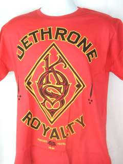 JOSH KOSCHECK Dethrone Royalty Red T shirt NEW UFC