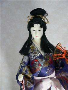 Beautiful JAPANESE Collectible Doll Typical Geisha